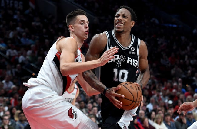 San Antonio Spurs vs. Portland Trail Blazers - 12/2/18 NBA Pick, Odds, and Prediction