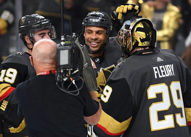NHL | Vegas Golden Knights at Anaheim Ducks