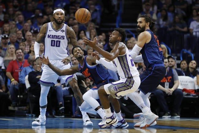 Sacramento Kings vs. Oklahoma City Thunder - 11/19/18 NBA Pick, Odds, and Prediction