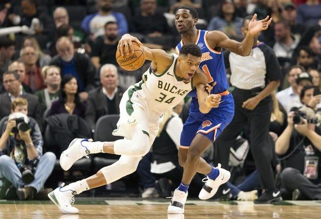 New York Knicks vs. Milwaukee Bucks - 12/1/18 NBA Pick, Odds, and Prediction