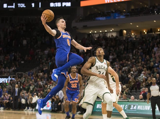 NBA   Milwaukee Bucks (22-10) at New York Knicks (9-25)