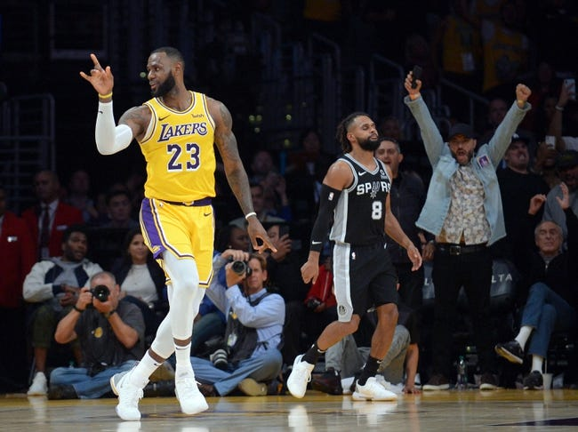 NBA | Los Angeles Lakers (2-3) at San Antonio Spurs (2-2)