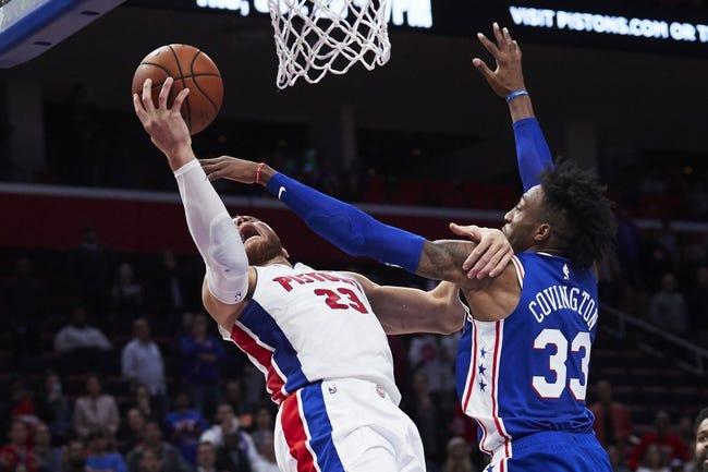 NBA   Detroit Pistons (4-3) at Philadelphia 76ers (5-4)
