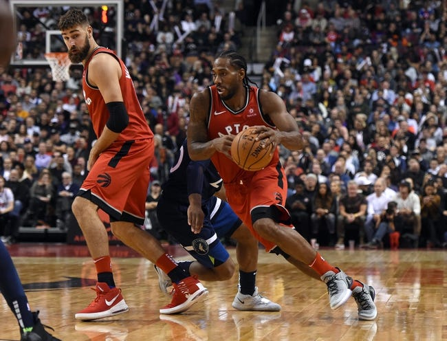 NBA | Toronto Raptors at Minnesota Timberwolves