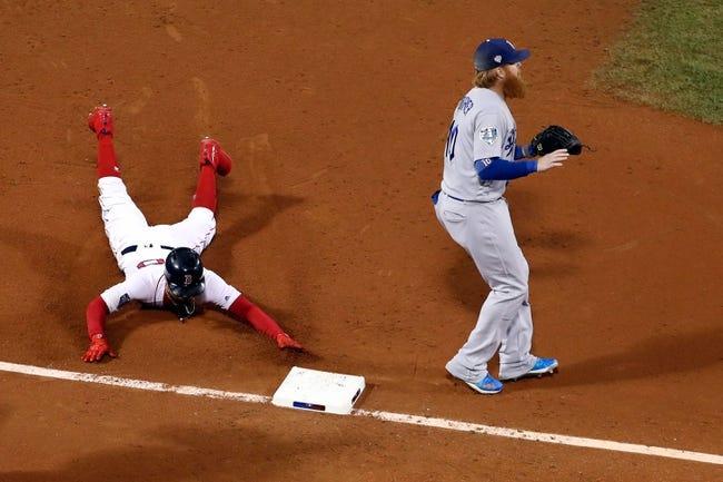 MLB | Boston Red Sox (116-56) at Los Angeles Dodgers (99-76)
