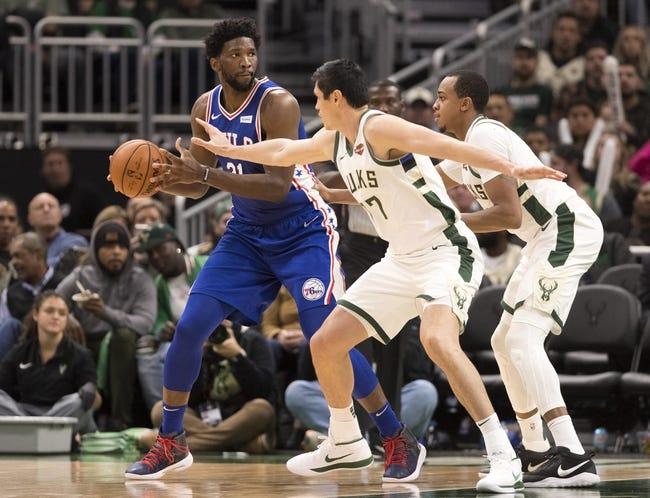 NBA | Philadelphia 76ers at Milwaukee Bucks