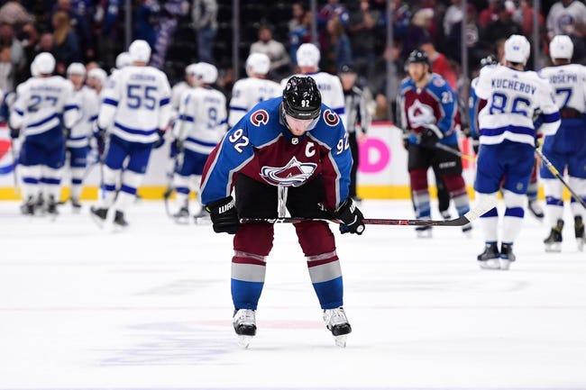 Tampa Bay Lightning vs. Colorado Avalanche - 12/8/18 NHL Pick, Odds, and Prediction