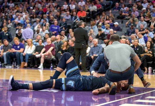 NBA | Sacramento Kings (8-6) at Memphis Grizzlies (8-5)