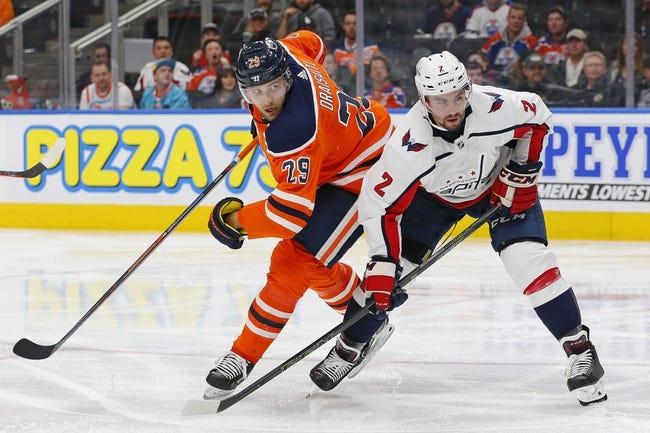 Washington Capitals vs. Edmonton Oilers - 11/5/18 NHL Pick, Odds, and Prediction