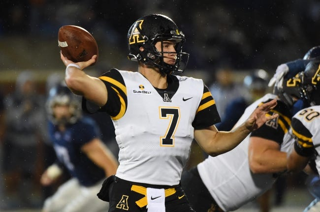 Coastal Carolina vs. Appalachian State - 11/3/18 College Football Pick, Odds, and Prediction