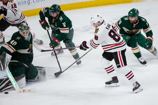 NHL | Minnesota Wild (12-6-2) at Chicago Blackhawks (7-8-5)