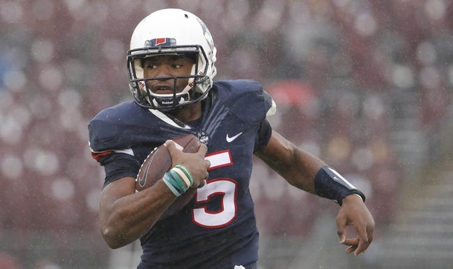 CFB | SMU Mustangs (3-5) at UCONN Huskies (1-8)