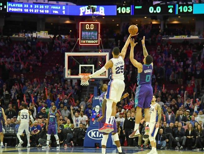 NBA | Charlotte Hornets (6-5) at Philadelphia 76ers (7-5)