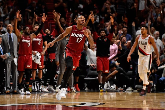NBA | Miami Heat at Portland Trail Blazers