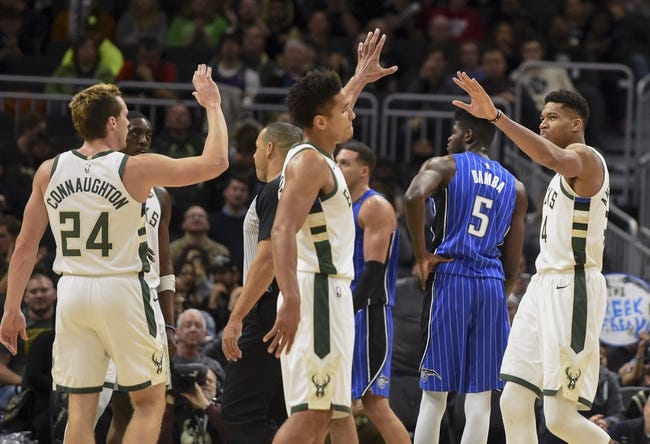 NBA | Milwaukee Bucks at Orlando Magic