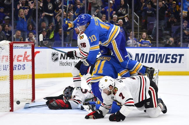 Chicago Blackhawks vs. St. Louis Blues - 11/14/18 NHL Pick, Odds, and Prediction