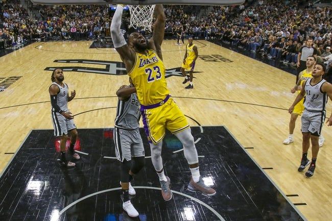 Los Angeles Lakers vs. San Antonio Spurs - 12/5/18 NBA Pick, Odds, and Prediction