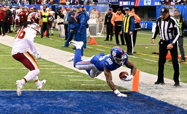 Washington Redskins vs. New York Giants - 12/9/18 NFL Pick, Odds, and Prediction