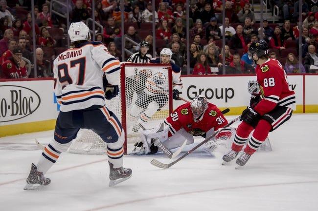 NHL   Chicago Blackhawks (6-4-3) at Edmonton Oilers (6-4-1)