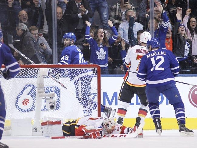 NHL | Toronto Maple Leafs at Calgary Flames
