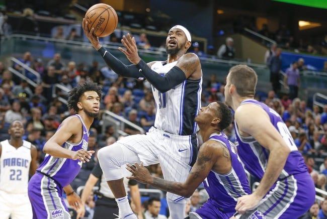 NBA   Orlando Magic at Sacramento Kings