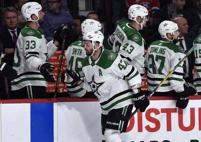 NHL | Montreal Canadiens (20-14-5) at Dallas Stars (20-16-3)