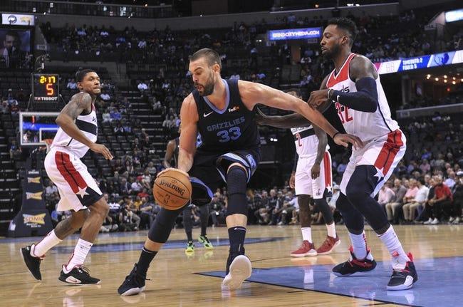 NBA | Memphis Grizzlies at Washington Wizards