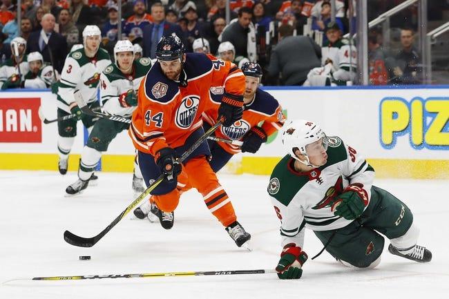 Edmonton Oilers vs. Minnesota Wild - 12/7/18 NHL Pick, Odds, and Prediction