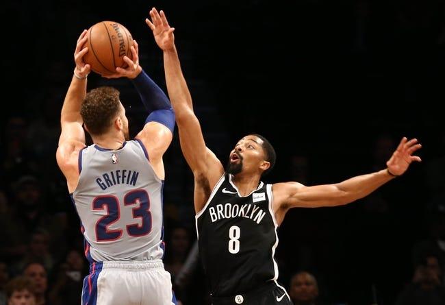NBA | Detroit Pistons at Brooklyn Nets