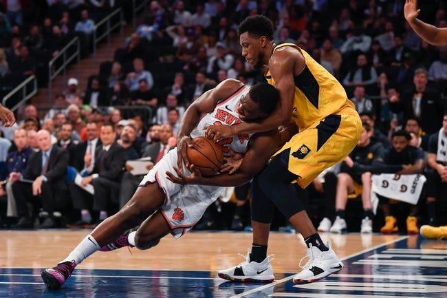 NBA   New York Knicks (9-21) at Indiana Pacers (19-10)