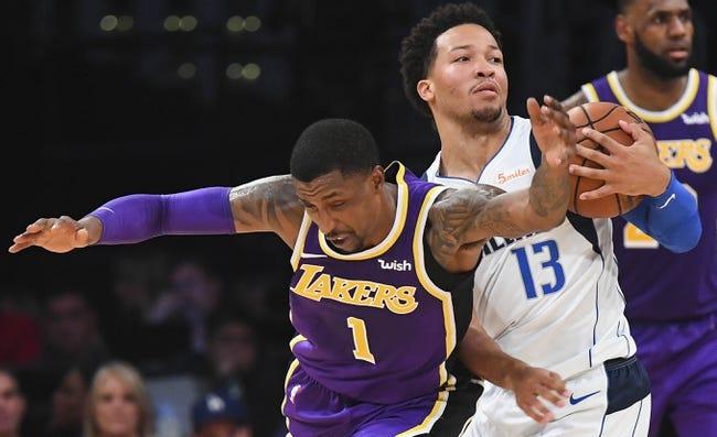 Los Angeles Lakers vs. Dallas Mavericks - 11/30/18 NBA Pick, Odds, and Prediction