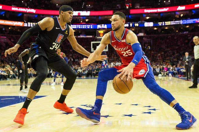 NBA | Philadelphia 76ers (23-14) at Los Angeles Clippers (21-15)