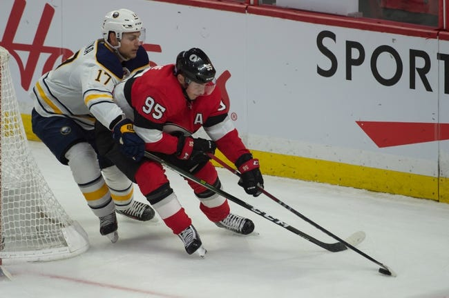 Buffalo Sabres vs. Ottawa Senators - 11/3/18 NHL Pick, Odds, and Prediction