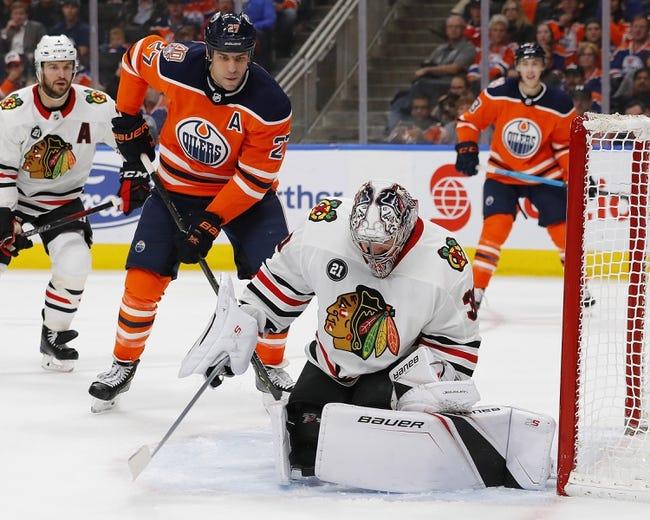 NHL | Chicago Blackhawks at Edmonton Oilers