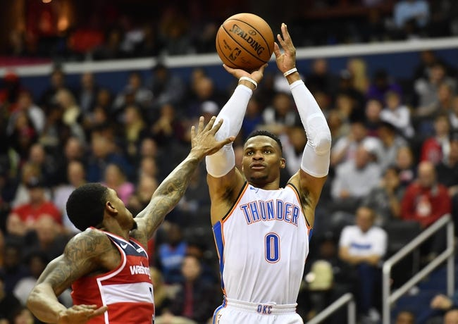 NBA | Washington Wizards at Oklahoma City Thunder
