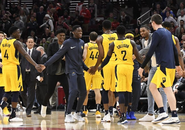 NBA | Chicago Bulls (5-19) at Indiana Pacers (13-10)