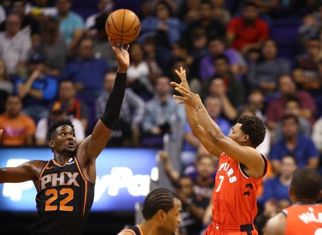 NBA   Phoenix Suns at Toronto Raptors