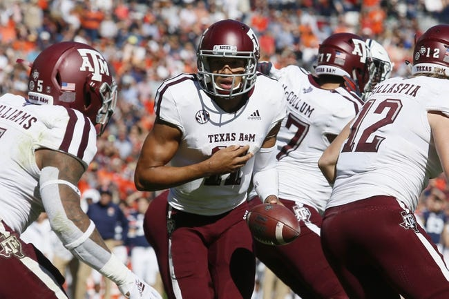 Texas A&M vs. Ole Miss - 11/10/18 College Football Pick, Odds, and Prediction
