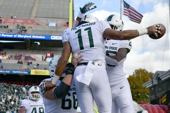CFB   Ohio State Buckeyes (8-1) at Michigan State Spartans (6-3)