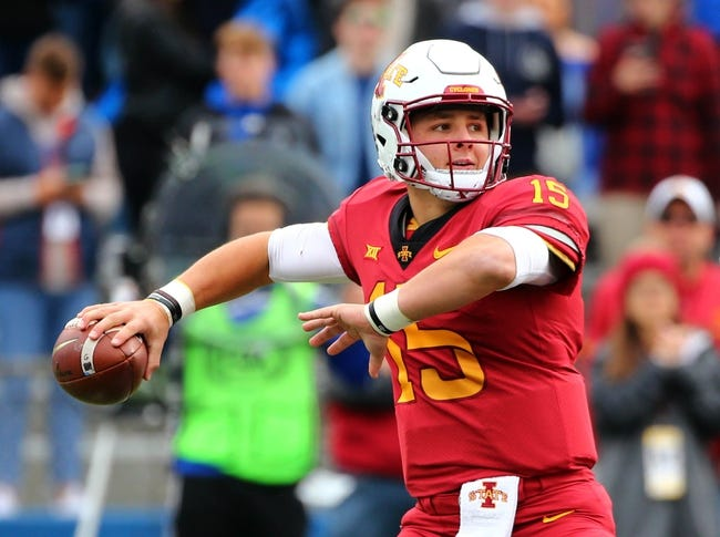 Iowa State vs. Baylor - 11/10/18 College Football Pick, Odds, and Prediction