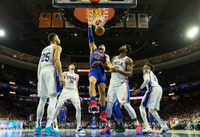 NBA | Philadelphia 76ers (17-9) at Detroit Pistons (13-9)