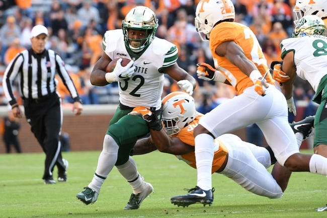 Charlotte vs. FIU - 11/17/18 College Football Pick, Odds, and Prediction