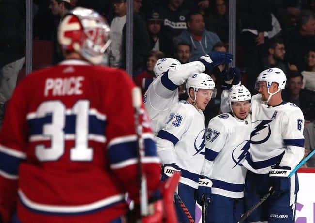 NHL | Montreal Canadiens (20-13-5) at Tampa Bay Lightning (29-7-2)