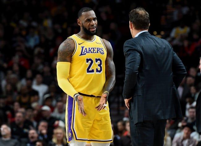 NBA | Toronto Raptors (8-1) at Los Angeles Lakers (3-5)