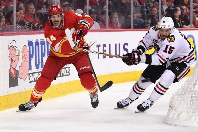 NHL | Calgary Flames (15-9-2) at Chicago Blackhawks (9-13-5)
