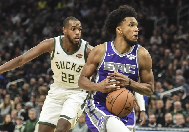 NBA | Milwaukee Bucks at Sacramento Kings