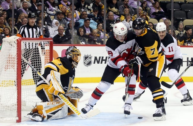 New Jersey Devils vs. Pittsburgh Penguins - 11/13/18 NHL Pick, Odds, and Prediction
