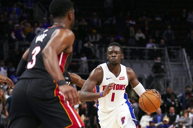 NBA | Miami Heat at Detroit Pistons