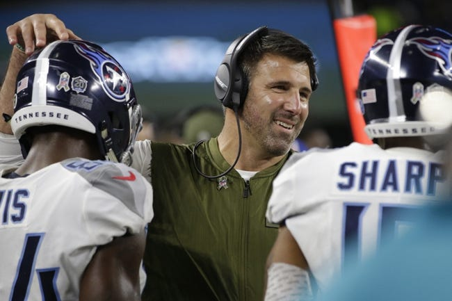 NFL | New England Patriots (7-2) at Tennessee Titans (4-4)