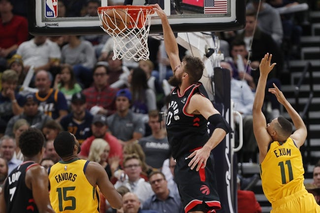 Toronto Raptors vs. Utah Jazz - 1/1/19 Choose NBA, Equipment, and Prediction
